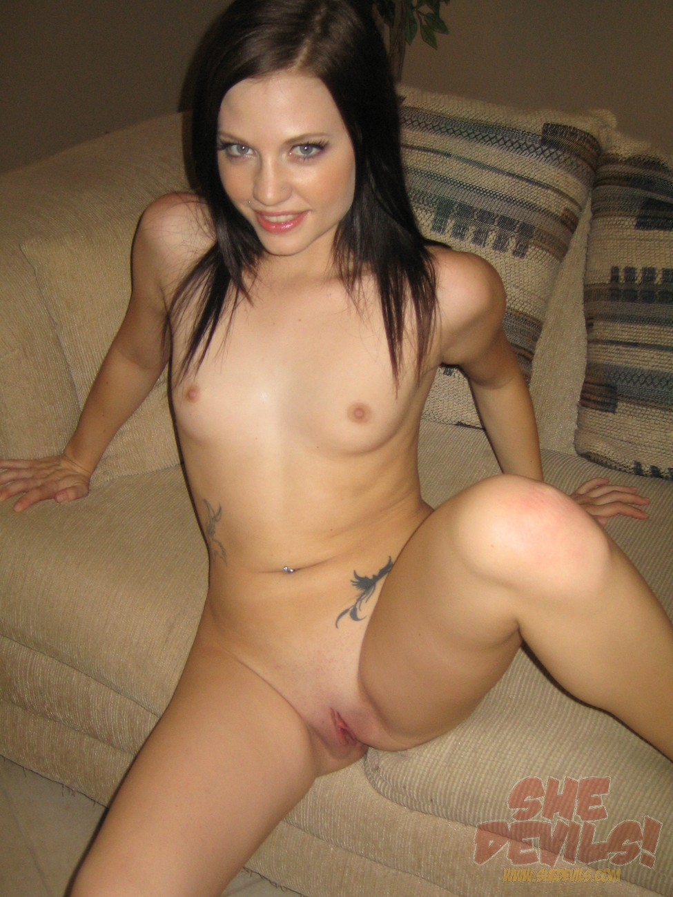 Skinny petite nude self shot pic can believe