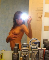 Sexting GF has her nude pics intercepted